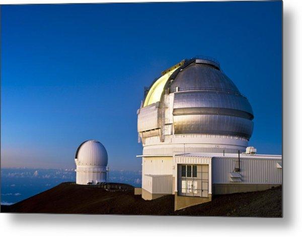 Gemini North Telescope, Hawaii Metal Print by David Nunuk
