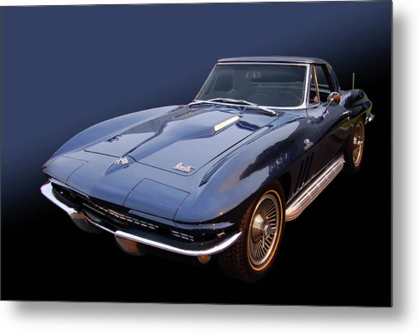 66 Big Block Vette Metal Print