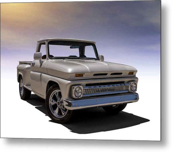 '66 Chevy Pickup Metal Print