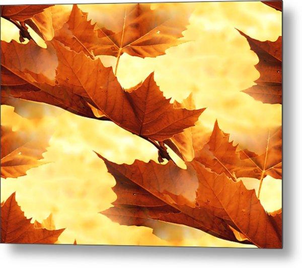 Autumn Metal Print by Design Windmill