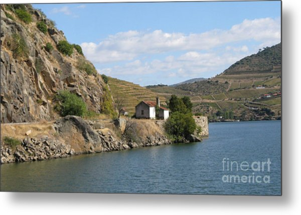 Douro River Valley Metal Print