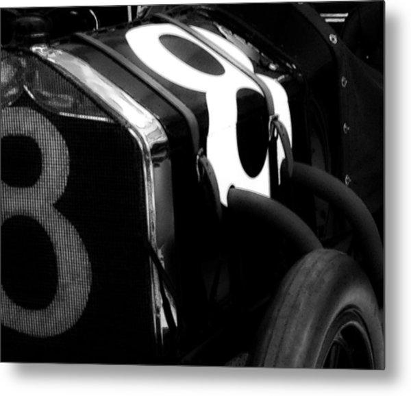 8 Racer Metal Print