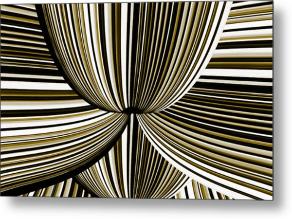 Metal Print featuring the digital art Space Invasion by Mihaela Stancu