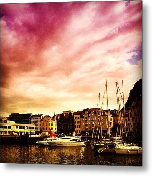 Alesund - Norway Metal Print