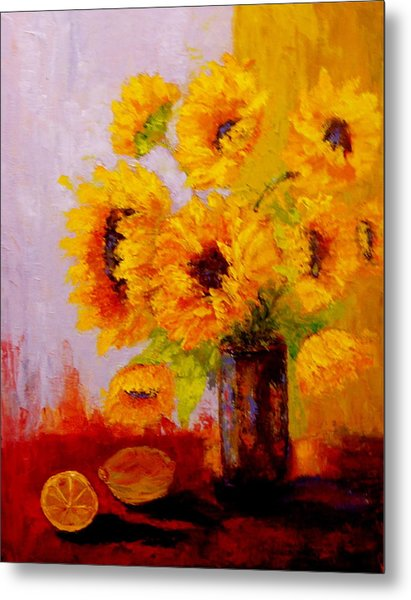 A Day Of Sushine Metal Print