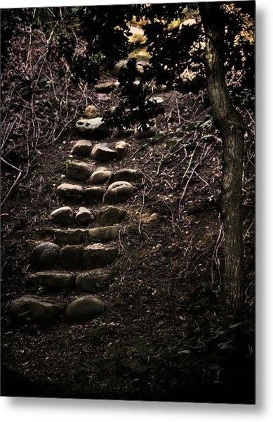 A Few More Steps Metal Print by Odd Jeppesen