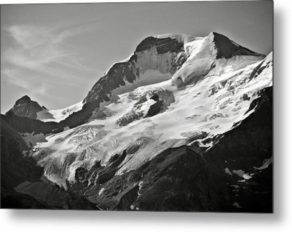 A Glacier In Jasper National Park Metal Print