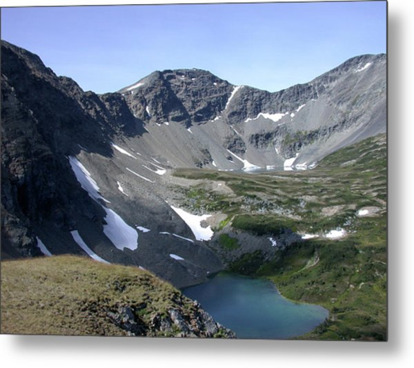 A Goat's Eye View Metal Print