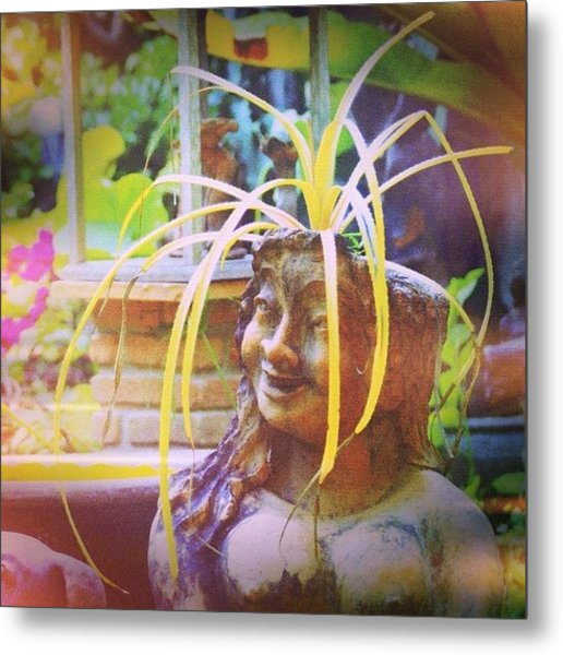 A Good Hair Day #thailand #smile #travel Metal Print