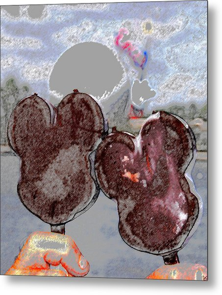 A Great Day At Epcot Metal Print