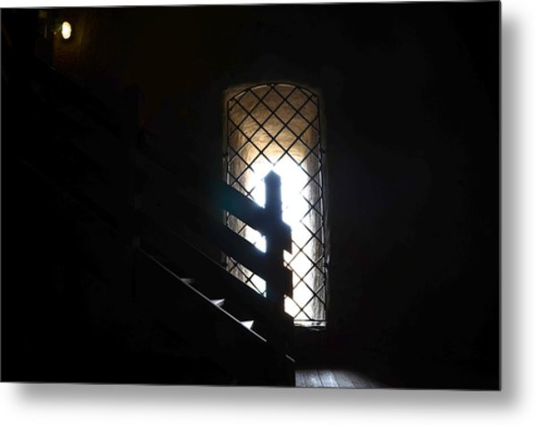 A Light In The Darkness Metal Print