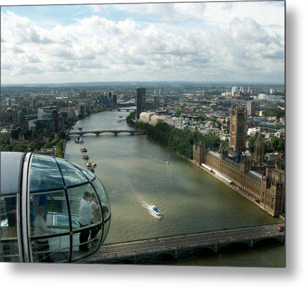 A London Eye's View Metal Print