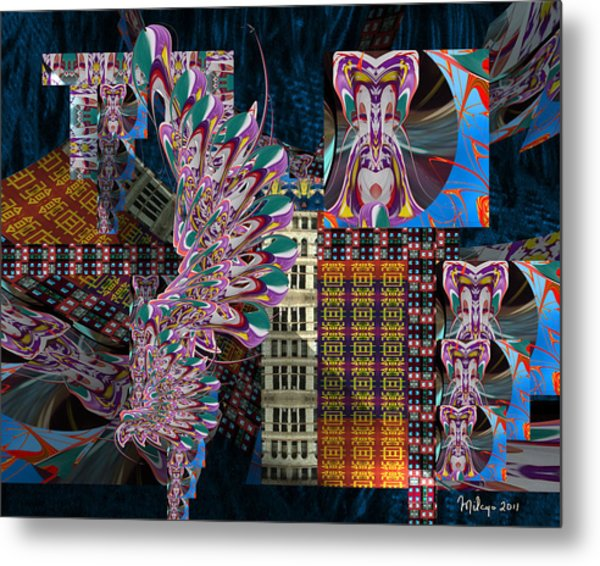 A Song Of India Metal Print