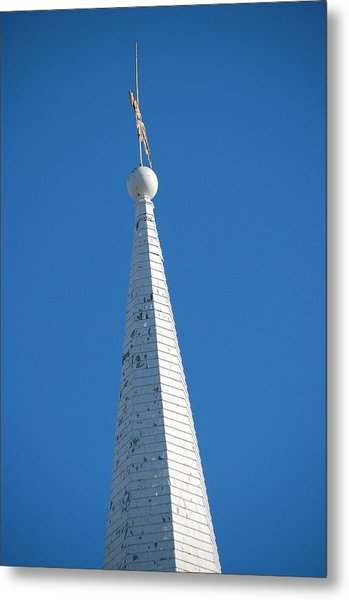 A Spire In New England Metal Print by Dickon Thompson