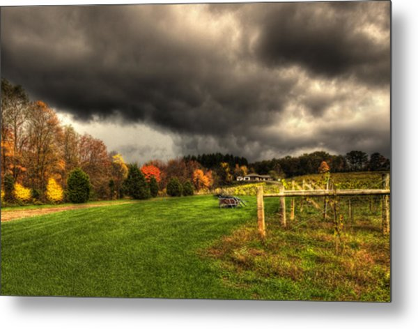 Storm Is Brewing Metal Print