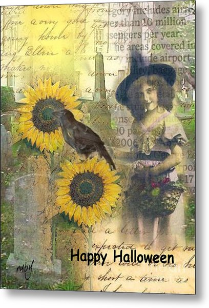 A Sunny Witch Day Metal Print