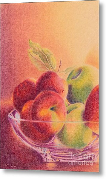 A Trip To The Orchard Metal Print