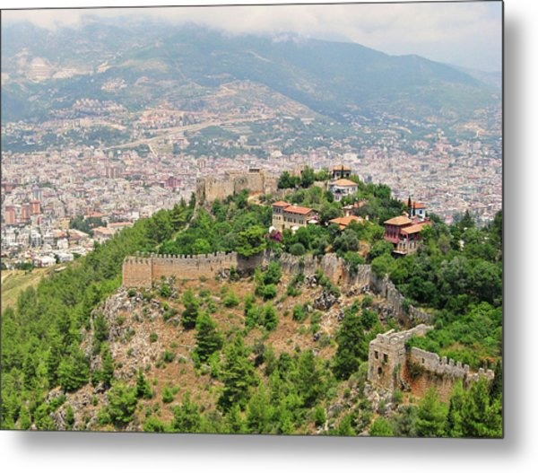 A View From Alanya Castle Metal Print