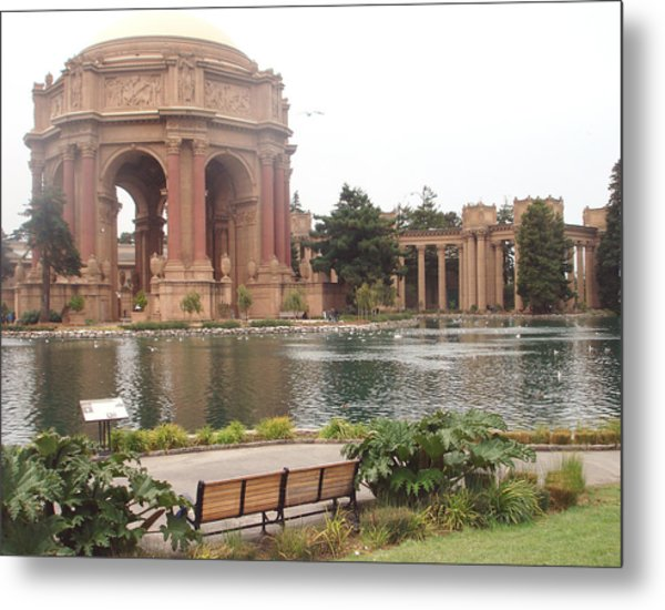 A View Of Palace Of Fine Arts Theatre San Francisco No One Metal Print
