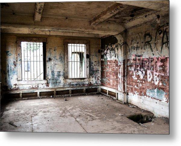 Abandoned Room Metal Print