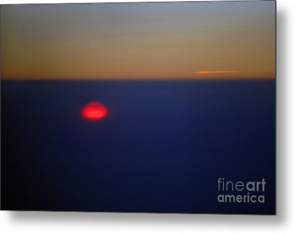 Above The Sunset Metal Print by Gib Martinez