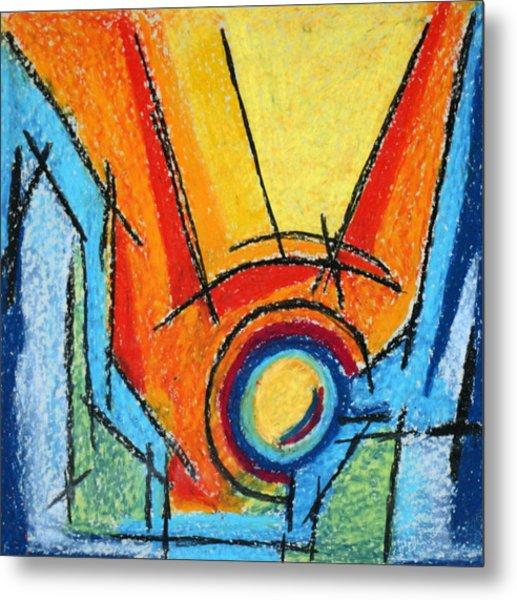 Abstract 52 Metal Print by Sandra Conceicao
