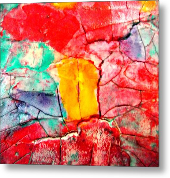 Abstract Accent 2 Metal Print