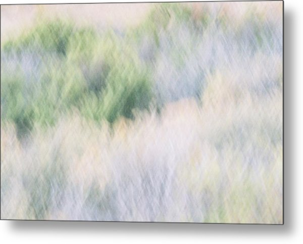Abstract Desert Metal Print by