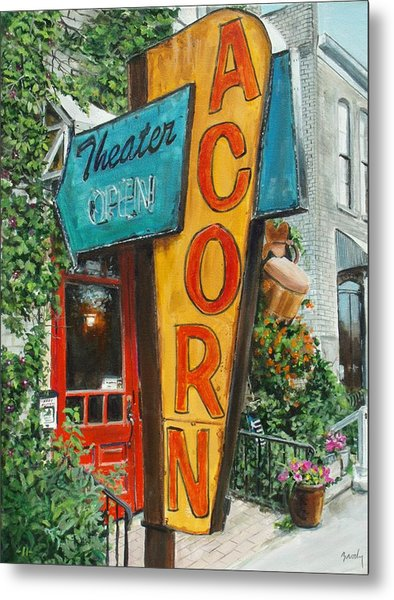 Acorn Theater Metal Print