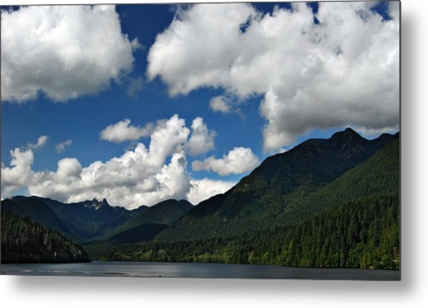 Across Capilano Lake Metal Print