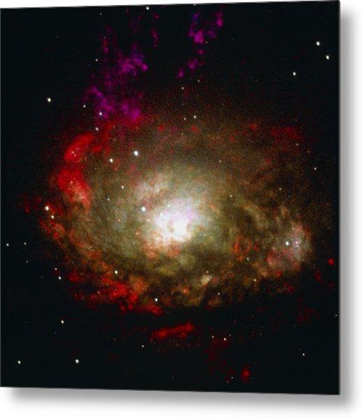 Active Galaxy Metal Print by Nasaesastscia.wilson, Umd, Et Al.