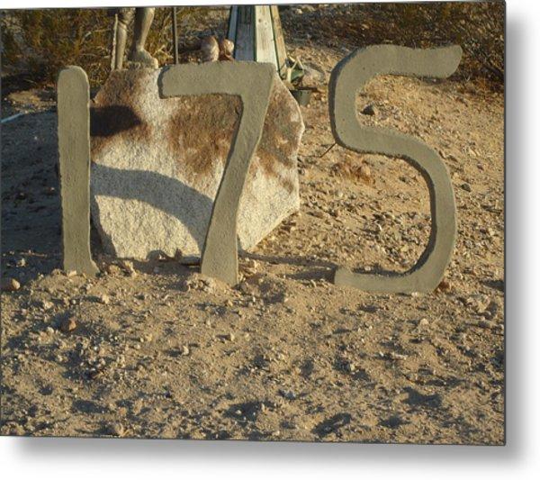 Address Numbers Metal Print by Jane Williams
