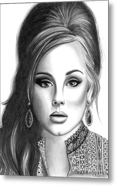 Adele Metal Print