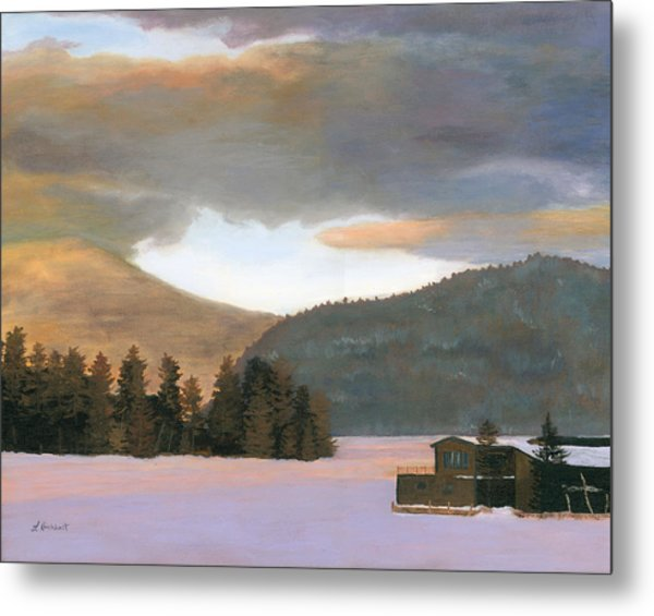 Adirondack Morning Metal Print