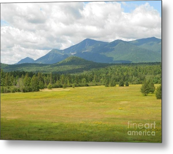 Adirondack Mountains Metal Print