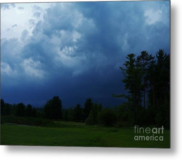 Adirondack Thunderstorm Metal Print by Peggy Miller