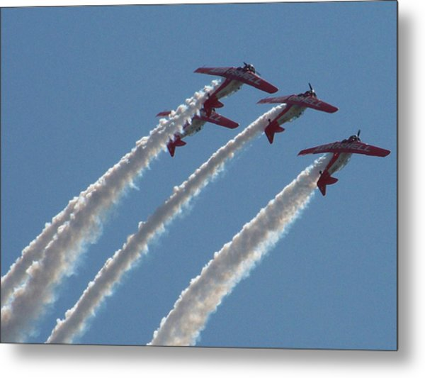 Aero Shell Team Metal Print