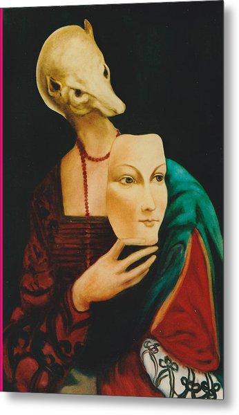 After Da Vinci Metal Print