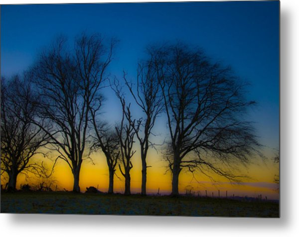 After Sunset Metal Print