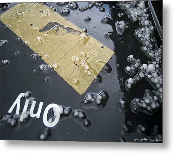 After The Hail Metal Print by John Potts