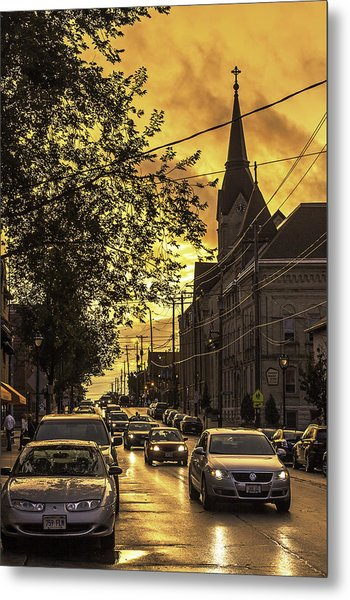After The Rain Metal Print by Michael Wessel