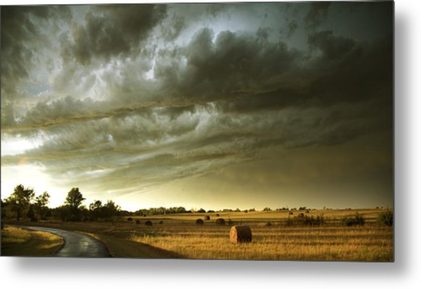After The Storm Metal Print by Andrew Dyer Photography