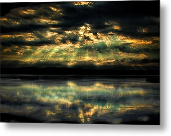 After The Storm Metal Print by Gary Smith