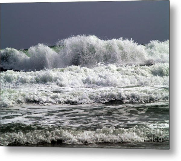 Aftermath Of A Storm Iv Metal Print