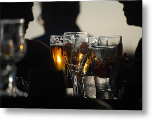 Afternoon Drinks Metal Print by Dickon Thompson