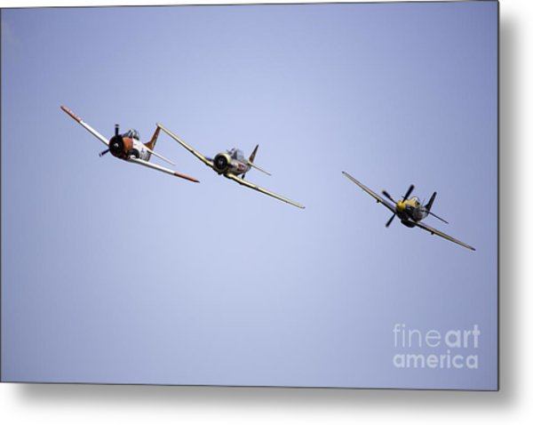 Air Show 11 Metal Print by Darcy Evans