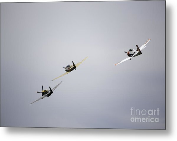 Air Show 13 Metal Print by Darcy Evans
