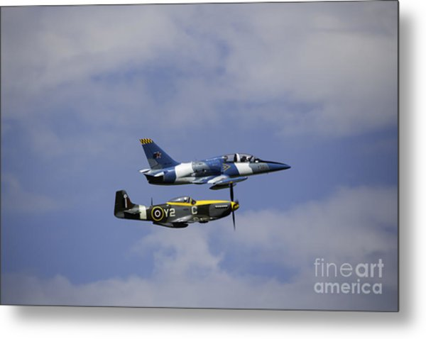 Air Show 2 Metal Print by Darcy Evans