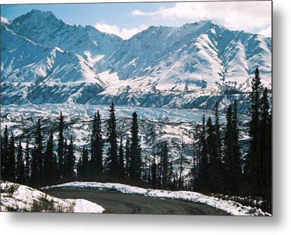 Alaska Icefield Metal Print