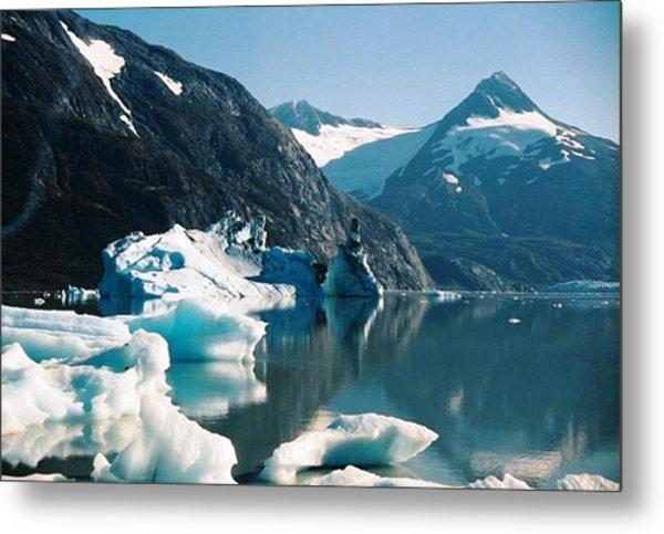 Alaska Reflections Metal Print